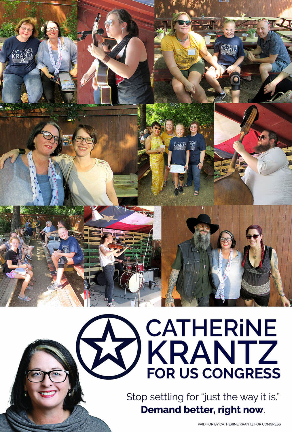 Catherine Krantz for Congress