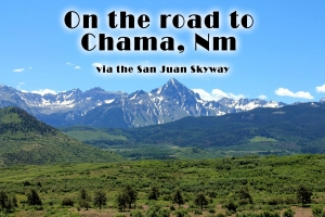 Heading to Chama for the night
