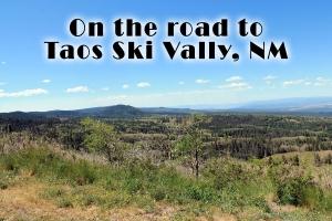 Heading towards Taos