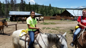 Haven on her horse