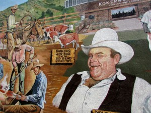 Dan Blocker, Alpine Celebrity