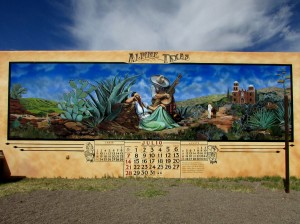 Mexican Calendar Mural