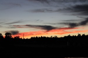 Sunset in Williams, AZ